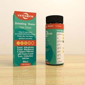 water test strips spa /pool 4 in 1 /water test strips hot tub