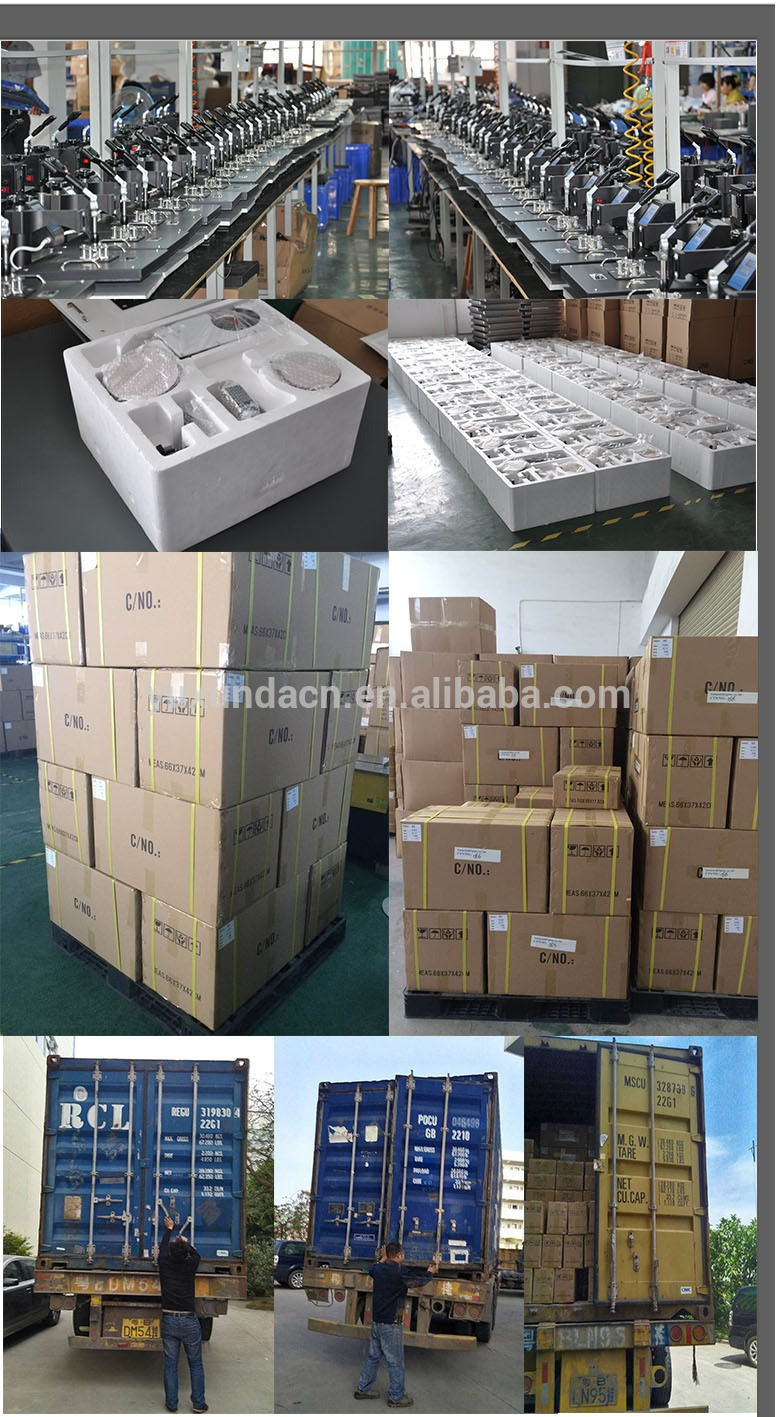 Yuxunda high quality pneumatic double sided heat press machine