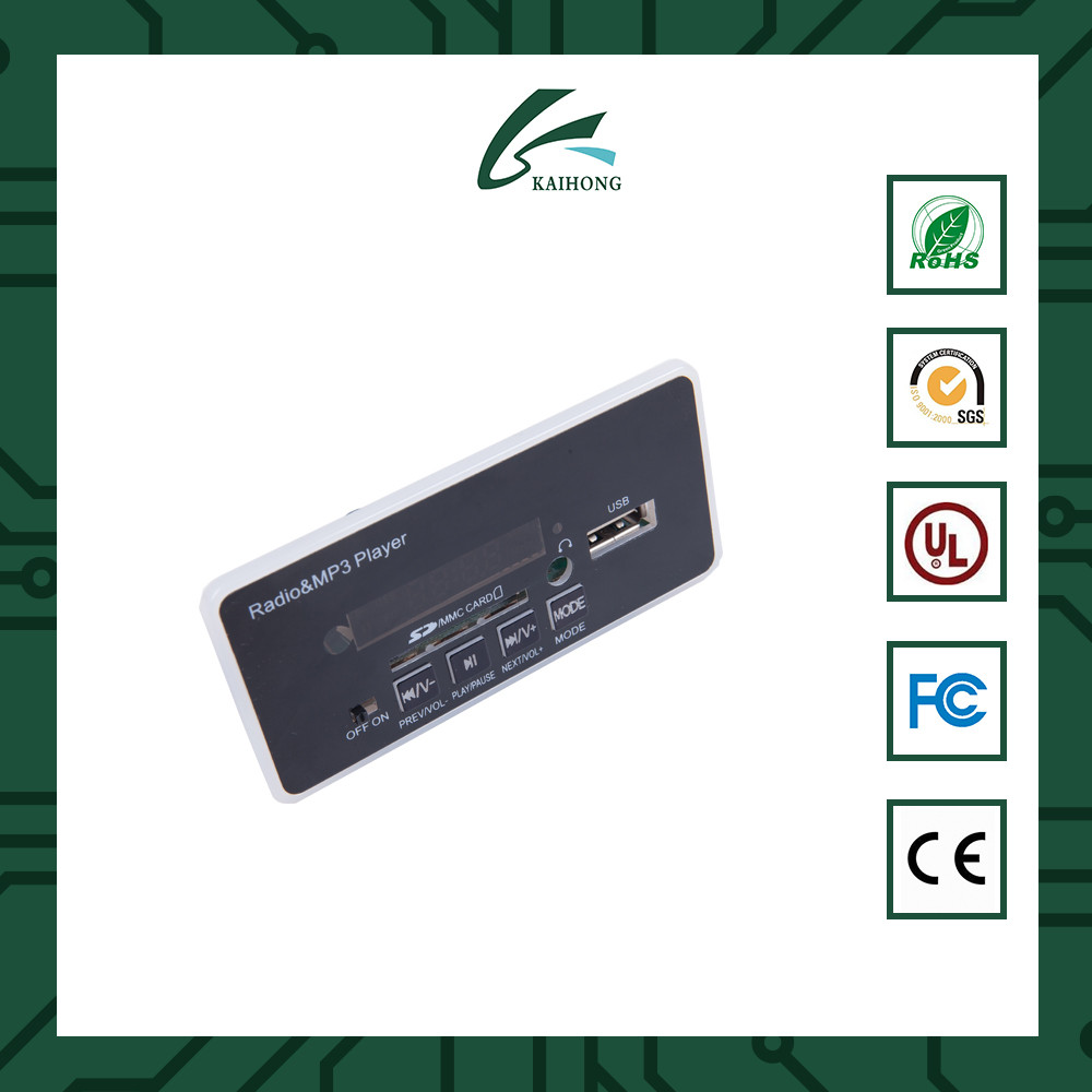 Low Price Fm Transmitter Mp3 Player Decoder Board With Customized Design