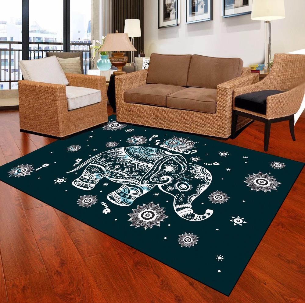 teppich auf lager tidebuy g nstige verkauf elephant animal print raum hotel schule kinder. Black Bedroom Furniture Sets. Home Design Ideas