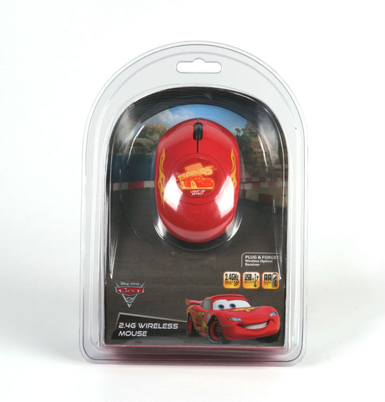 Camino 760475 Cars2 (McQueen) 2.4G Wireless Mouse