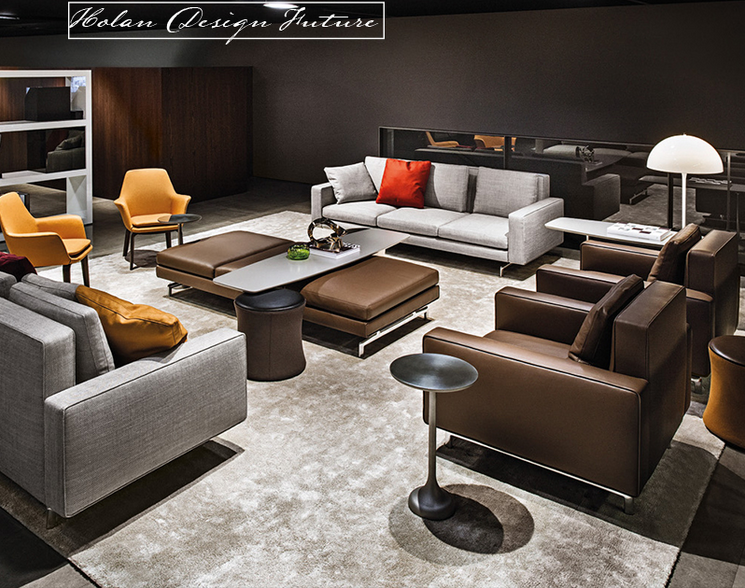 Modern fashion lazy boy upholstery sofa fabric types of for Types of living room furniture