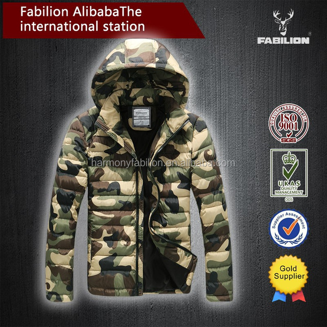Top quality apparel new style jacket camouflage winter clothing for motorcycle jacket