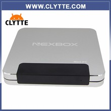 2016 CLYTTE First 64Bit Intel Z8300 Dual OS Quad Core Win10 Tv Box Android Mini PC With 4GB RAM 64GB ROM WIFI BT 4.0