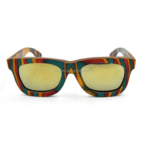 Nature eyewear candy wood sunglasses colorful painting sunglasses we eyewear woodstock eyewear