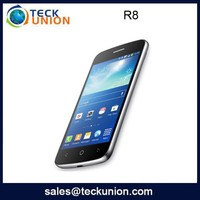 R8 3.5 inch small touch screen quad band cellular cheap basic china mobile phone