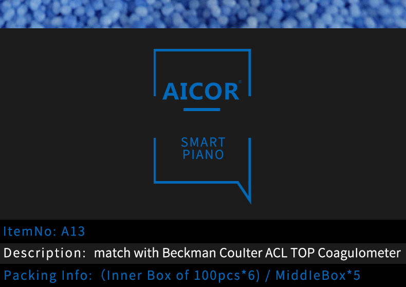 Match with Beckman Coulter ACL TOP coagulometer