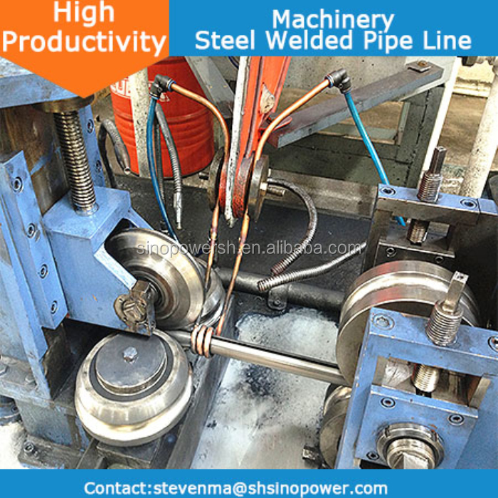Galvanized Steel Pipe Making Machine,Carbon Steel Machine,20-76mm Pipe Diameter