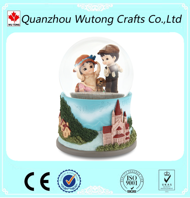 Custom Your Own Snow Globe Children Souvenir