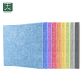 Soundproofing polyester fiber acoustic panel PET acoustic panel for school