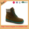 2015 Fashion mens used leather work boots