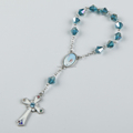 hot sale crystal bead rosary bracelet with different colors