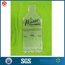 PVC Bag With Bubble Wrap Insert Wine and Spirit Bottle Protector for Travel