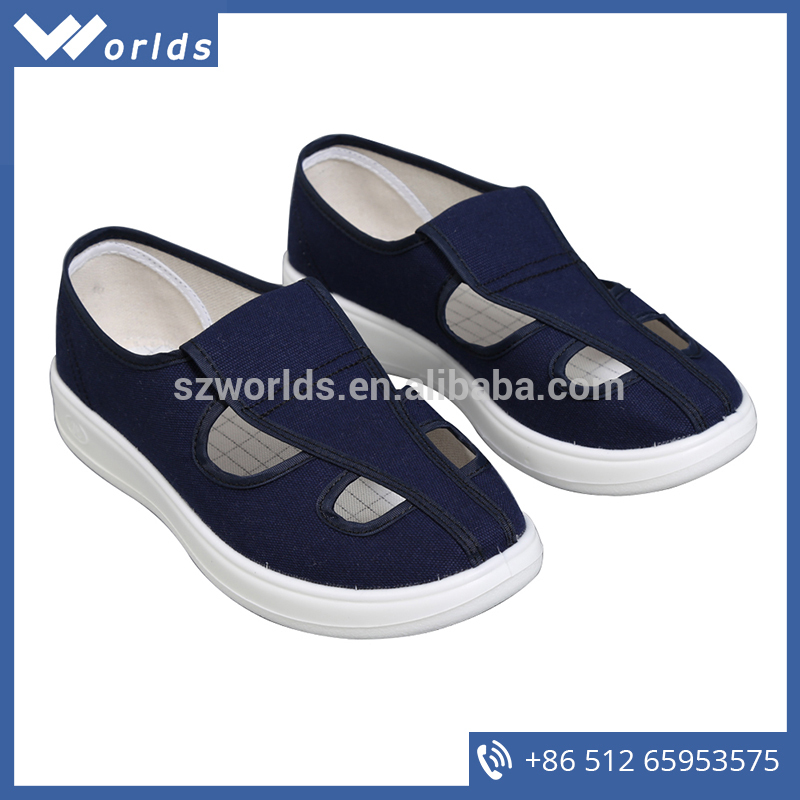 Good price of Workshop Cleanroom Leather Esd Shoes with low
