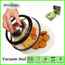 PressDome 10 inch instant vacuum sealed keep freshness and warm sealing cover