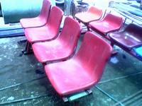 Fiberglass chairs set
