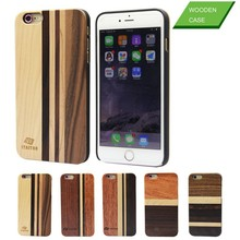 2015 selling design cell phone cases mixed wood unique design wooden case for iphone 4 5 6