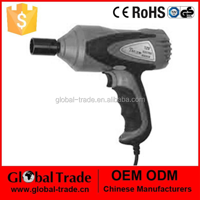 12V DC Electric Impact Wrench& Nut Runner Power Tool .A0902
