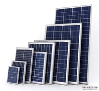 polycrystalline silicon solar panel module 210W with Good quality