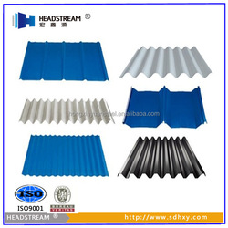 Steel Roofing Shingles and Corrugated Sheet for Roofing