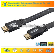 Hot sell hdmi cable and 3.5mm jack audio+hdmi cable with Etherent for computer