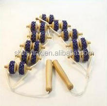 Wooden Back Roller Massager Body Care Wood Beads Back Massager