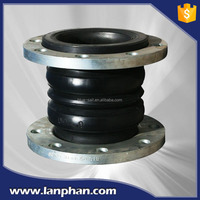Pipe Fittings Double-ball Flexible Rubber Expansion Joint