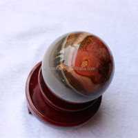 Exquisite Natural Ocean Jasper Precious Gemstone Balls Spheres, Polished Crystal Stone Spheres