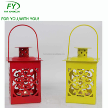 ML-1634 Chinese Wholesale Christmas Ornaments Mini Metal Candle Lantern