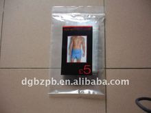 2012-BZ beautiful plastic underwear bag