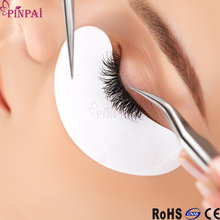 pinpai brand wholesale private labeling eye gel patch silicone grafting eyelash pads