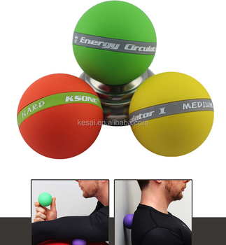 7CM Rubber Massage Ball Therapy massage ball
