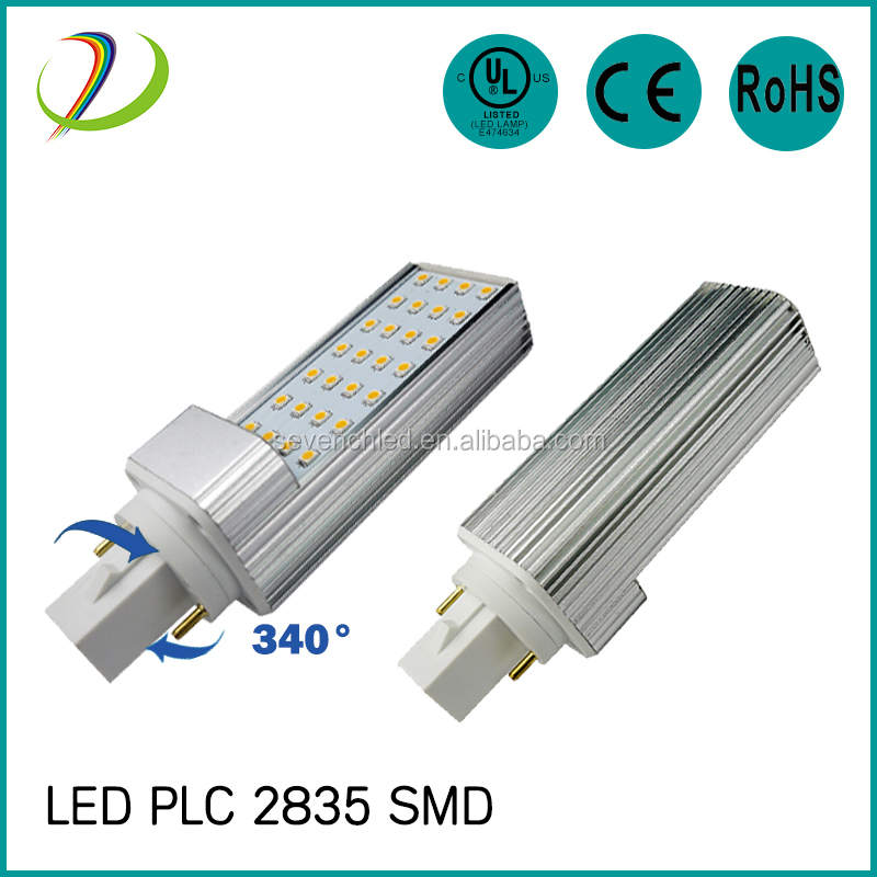 UL cUL CE RoHS approved 120 degree LED PL light bulb GX23 base with AC85-277v Isolated driver