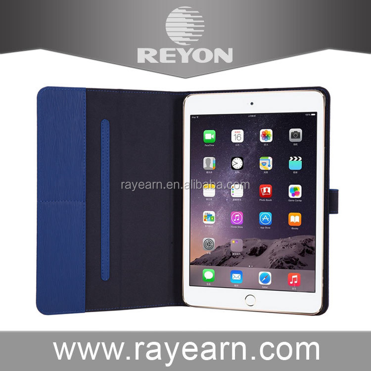 REYON Slim Smart Folding Book Leather Stand Cover for iPad Mini 4 Mini4 Tablet PC Case