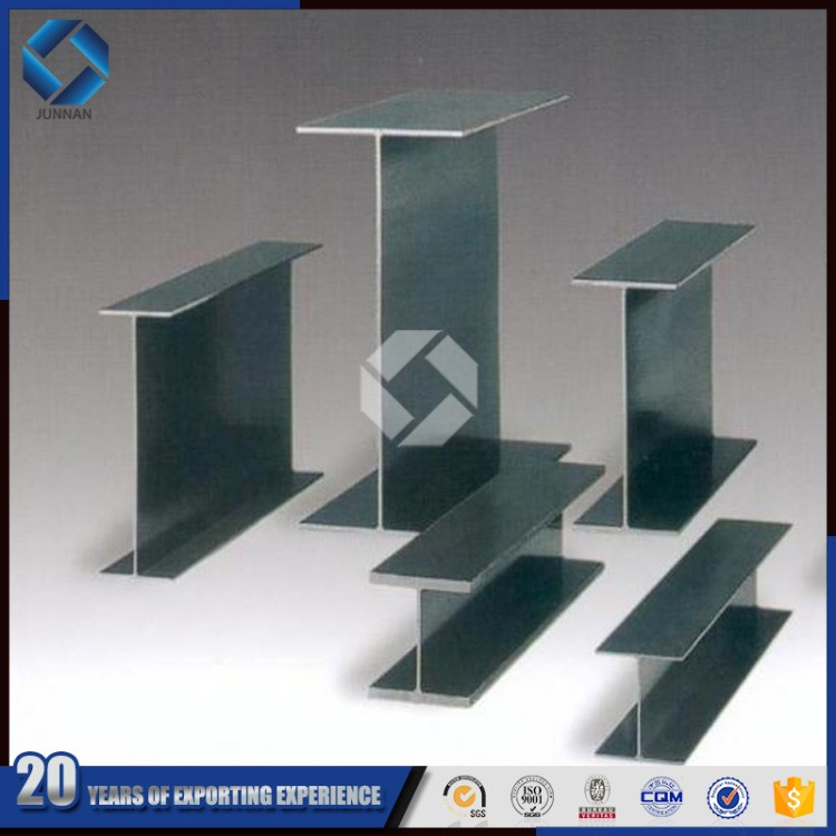 standard h beam steel weight table