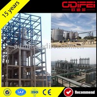 Hot selling wasted oil purifying plant scrap tires recycling pyrolysis machine with high quality