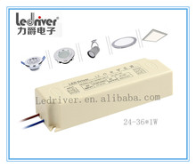 36W 120V Led Driver Power Supply Constant Voltage AC Input Switching Power Supply