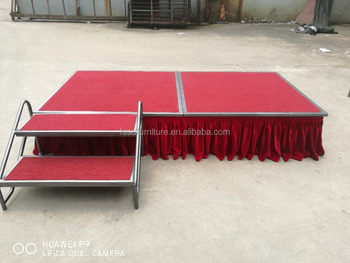 Hot Sale Quality Movable Mobile Stage for Banquet Hall in stock