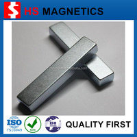 China customized permanent super strong large neodymium block magnet
