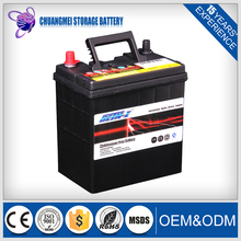 dry lead acid 36B20L car start battery 36ah