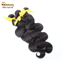 Aliluxy cheap and high quality 100% human hair extensions full cuticle peruvian hair