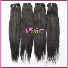 non-processed dyeable brazilian virgin human hair extensions 120905 guangzhou xibolai hair