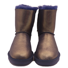 Winter Cheap And Classical Black Bowknot Women Boots Shoes, Ladies Fashion Brands Snow Boots JLX-CF-282