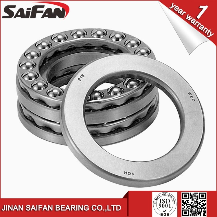 Alibaba Trade Assurance Thrust Ball Bearing 51134 SAIFAN Ball Bearing 51134M Sizes 170*215*34mm