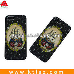 Custom Water print Rubber Oil Handphone Skin Cover for Iphone