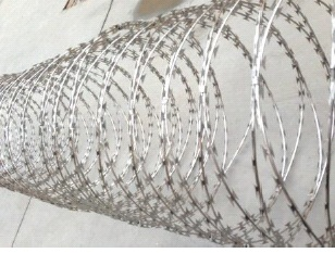 Finished Product (Razor Wire)