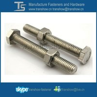 Good Price Made In China Stainless Steel Hex Bolt and Nut