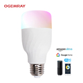 Timer+clock+Group+Android IOS RGB Wifi Smart LED Lighting bulb