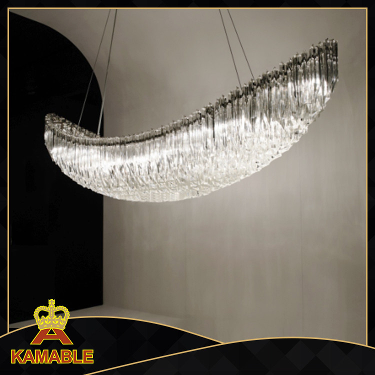 Hotel project decorative Custom-Made chandelier crystal lamp