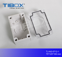 International standard good quality small screw type plastic electrical junction box